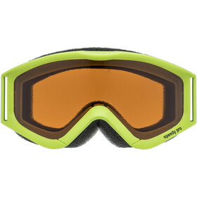 UVEX speedy pro Lunettes de protection Enfant, lightgreen/lasergold